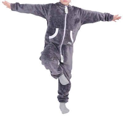 LIL'FINCH Jumpsuit »LIL'Finch Kinder Jumpsuit LIL'Teddy F2004 Jungen Mädchen Overall Teddy Fleece«