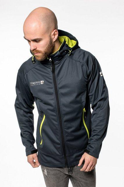 DEPROC Active Softshelljacke »Downton Peak MEN« auch in Großen Größen erhältlich | Sportbekleidung > Sportjacken > Softshelljacken | DEPROC Active