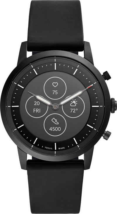 Fossil Smartwatches COLLIDER HYBRID SMARTWATCH HR, FTW7010 Smartwatch (Proprietär)