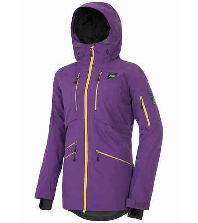 Picture Winterjacke »PICTURE Haakon Ski-Jacke atmungsaktive Damen Snowboard-Jacke Winterjacke Violett«
