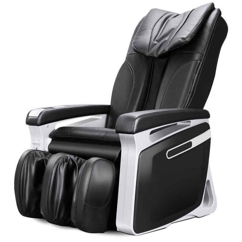 NAIPO Massagesessel »MGC-M15«, gewerblicher Massagestuhl, Luft-Massage-System, Klopfen, Kneten, Digitialanzeige, Doppeltes Sicherheitsystem