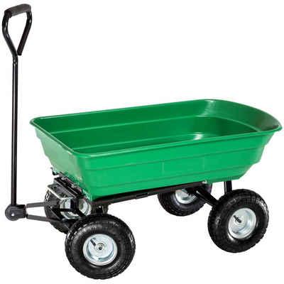 tectake Bollerwagen »Handwagen kippbar max. 300kg«