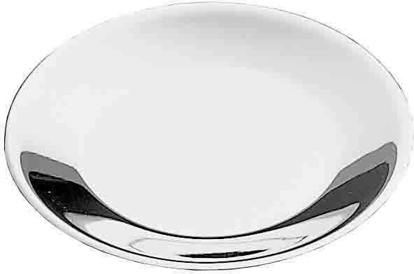 PINTINOX Kuchenteller »Gelateria Professional«, (4 Stück), Edelstahl, spülmaschinengeeignet, Ø 13 cm