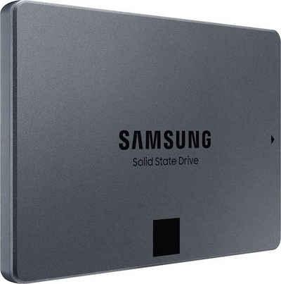 """Samsung »870 QVO« interne SSD (1 TB) 2,5"""" 560 MB/S Lesegeschwindigkeit, 530 MB/S Schreibgeschwindigkeit)"""