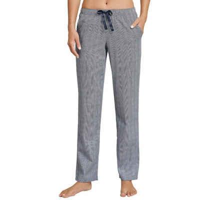 Schiesser Schlafhose »Mix & Relax« Schlafanzug Hose kurz - Mit Seitentaschen, Angenehm auf der Haut, Schlafanzüge zum selber mixen