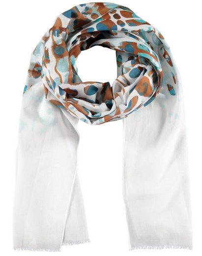 Samoon Modeschal »Leichter Schal aus Baumwoll-Voile«, (1-St)