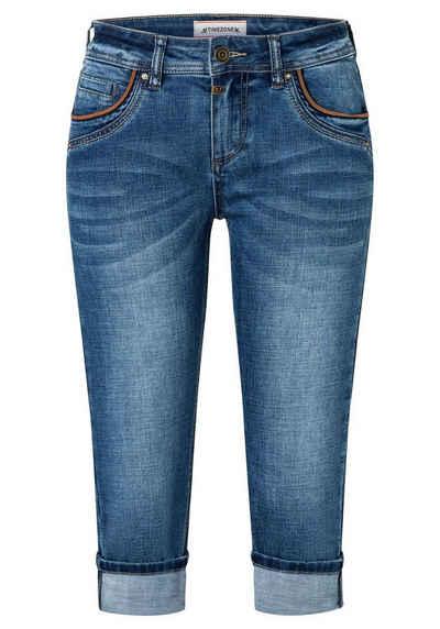 TIMEZONE Slim-fit-Jeans »Slim TaliTZ 3/4« 3/4 Jeans mit Stretch