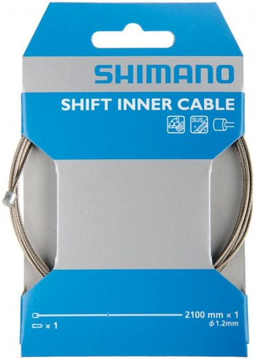 Shimano Schaltzug »SHIMANO Schaltzug MTB/Road Edelstahl, Edelstahl, 2«