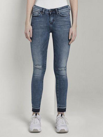 TOM TAILOR Denim Skinny-fit-Jeans »Jona Extra Skinny Jeans mit Rissen«