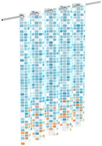 Eisl Duschvorhang »Mosaik« Breite 180 cm