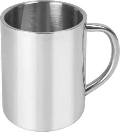 normani Becher »Doppelwandige Edelstahl-Outdoor-Tasse 250 ml Utah«, Edelstahl, Edelstahlbecher Thermotasse Campingbecher Outdoor Trinkbecher Isolierbecher