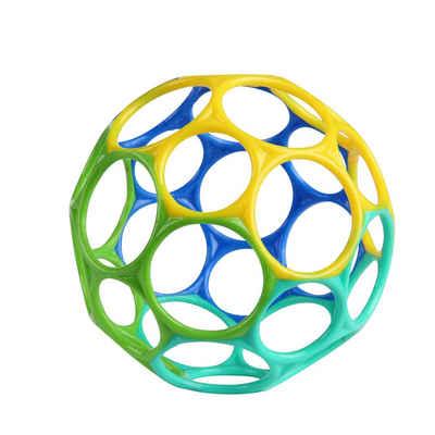 OBALL Greifling »10 cm - Blau/Grün, Greifball Spielzeug für Babys ab 0+ Monate«