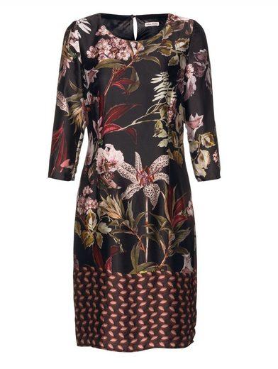 Alba Moda Kleid im ausdrucksstarken Blumenmuster allover