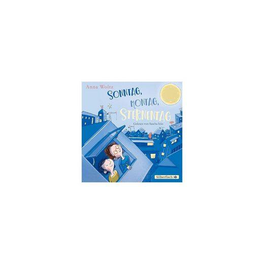 Silberfisch Verlag Sonntag, Montag, Sternentag, 1 Audio-CD