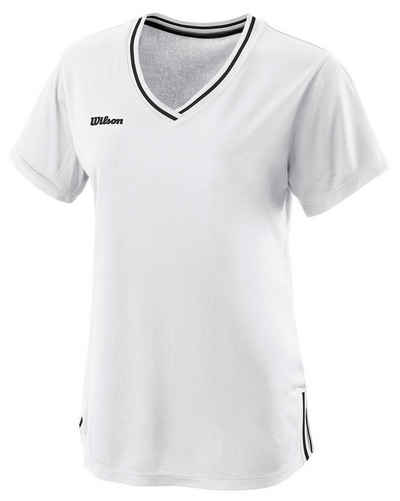 Wilson Tennisshirt »Damen Tennis T-Shirt W TEAM II V-NECK«