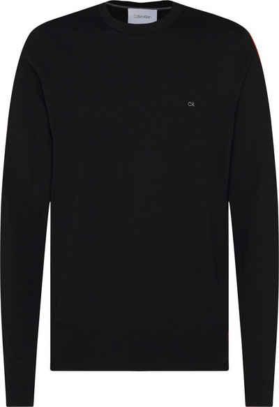 Calvin Klein Rundhalspullover »SUPERIOR WOOL CREW NECK SWEATER« Feinstrick