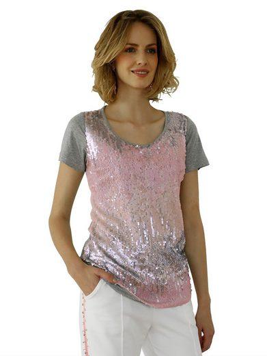 Amy Vermont Shirt mit Pailletten