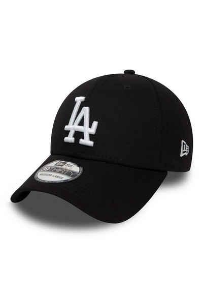New Era Baseball Cap »New Era League Essential 39Thirty Cap LA DODGERS Schwarz Weiß«