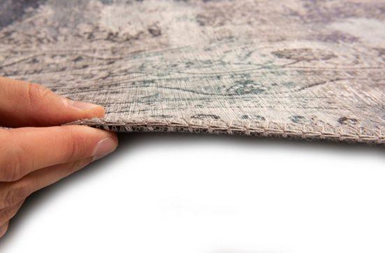 Teppich »Cecilia 068«  Gino Falcone  rechteckig  Höhe 3 mm  Kurzflor  Vintage Design