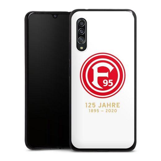 DeinDesign Handyhülle »125 Jahre Fortuna Weiss« Samsung Galaxy A90 5G, Hülle Fortuna Düsseldorf Logo Bundesliga