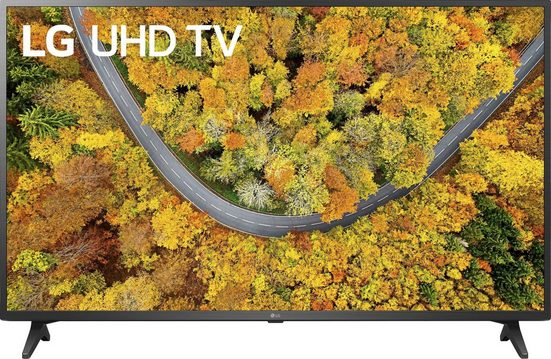 LG 50UP75009LF LCD-LED Fernseher (126 cm/50 Zoll, 4K Ultra HD, Smart-TV, LG Local Contrast, Sprachassistenten, HDR10 Pro)