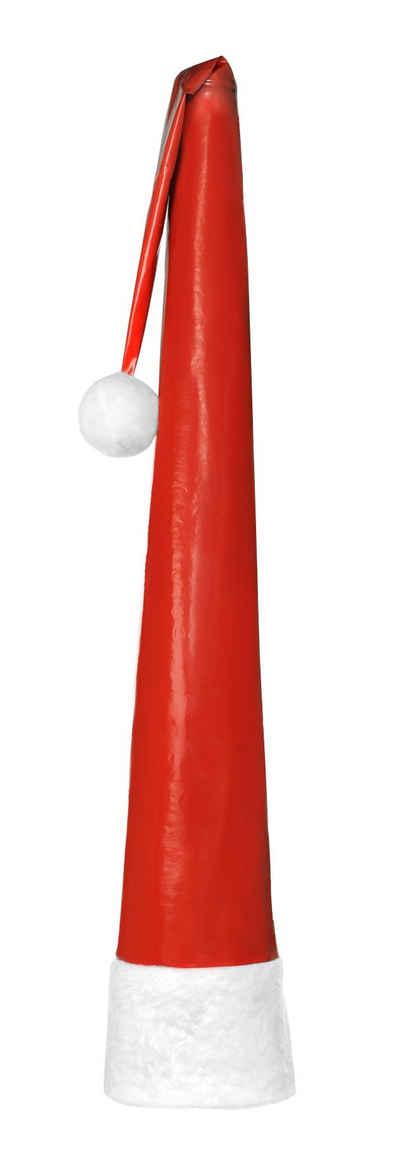 Leco Winterschutzhaube, XXL Weihnachtsmütze 3,30m Weihnachten Mütze Garten Weihnachtsdekoration