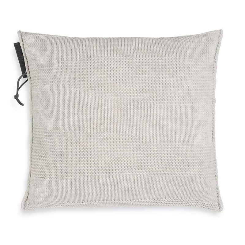 Knit Factory Dekokissen »Knit Factory Joly Kissen Beige - 50x50«