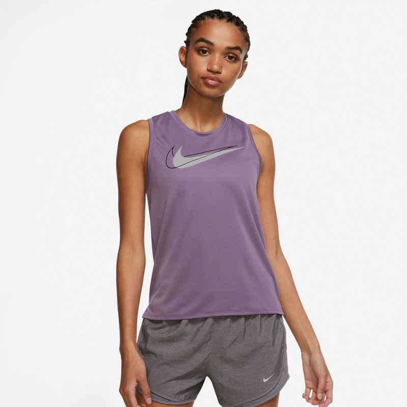 Nike Lauftop »DRI-FIT SWOOSH RUN WOMENS RUNNING TOP«