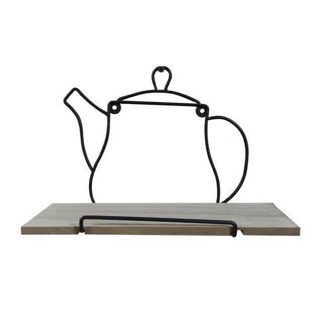Küchenregale - HTI Line Wandregal »Wandboard Teatime Viola«, Wandboard  - Onlineshop OTTO
