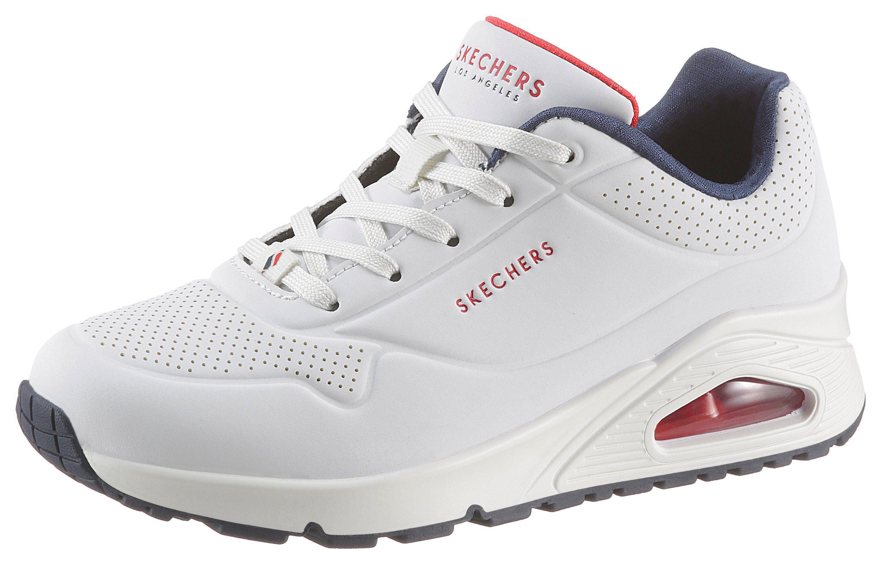 Skechers »Uno Stand on Air« Wedgesneaker mit feiner Perforation online kaufen | OTTO