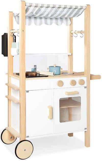 Pinolino® Spielküche »Street Kitchen Jamie« Holz, FSC®-Holz aus gewissenhaft bewirtschafteten Wäldern