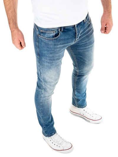WOTEGA Slim-fit-Jeans »Alistar Stretch« Herren Jeans mit Stretchanteil