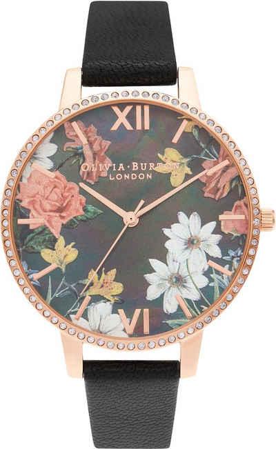 OLIVIA BURTON Quarzuhr »Sparkle Florals, OB16BF31«