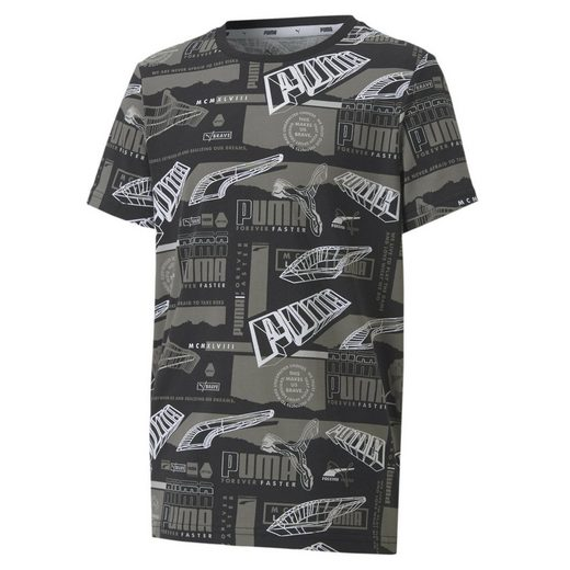 PUMA T-Shirt »Alpha AOP Jugend T-Shirt«