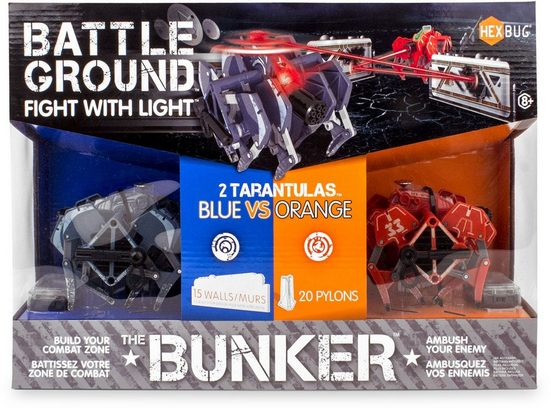 Hexbug RC-Roboter »Battle Ground Tarantula Bunker« (Set, 2-tlg)