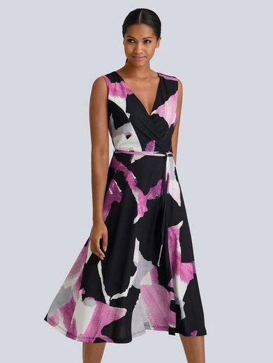 Alba Moda Kleid in modischen Grafik Print