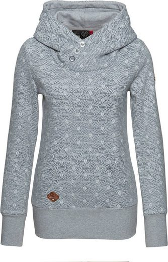 Ragwear Plus Sweater »CHELSEA PLUS« mit Allover Print