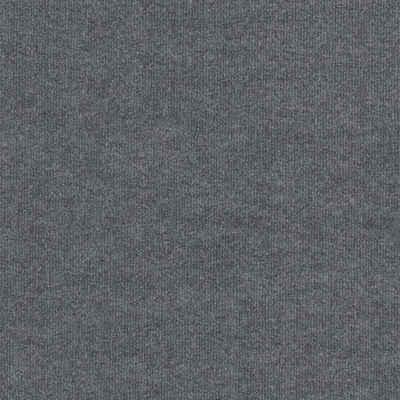 Teppichfliese »Madison«, quadratisch, Höhe 6 mm, grau, selbstliegend