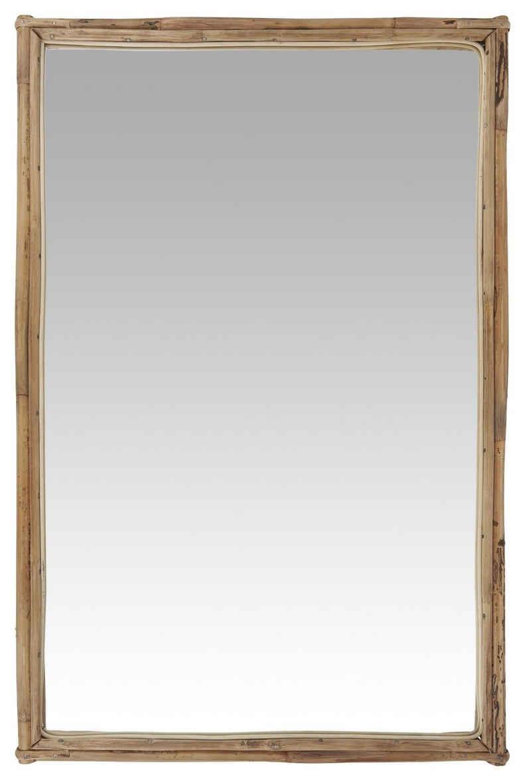 Ib Laursen Spiegel »Ib Laursen - Wandspiegel Spiegel (9090-30) Bambus 75,5cm x 49,5cm«