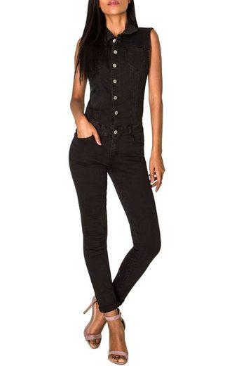 Nina Carter Jumpsuit »2661« Damen Jeans Overall Hosenanzug TATI
