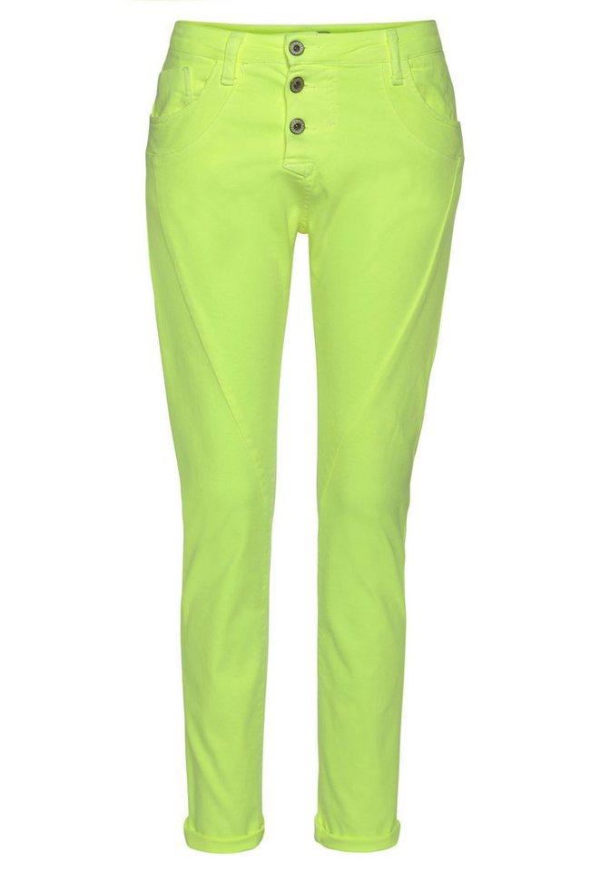 please jeans -  Boyfriend-Hose »P78A« Neon Colors