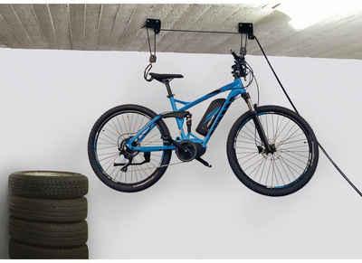 FISCHER Fahrräder Fahrradhalter »Fahrradlift Tragkraft 57kg ProfiPlus«