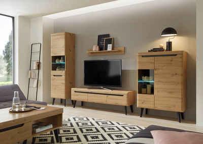 my home Wohnwand »Torge«, (Set, 4-St)