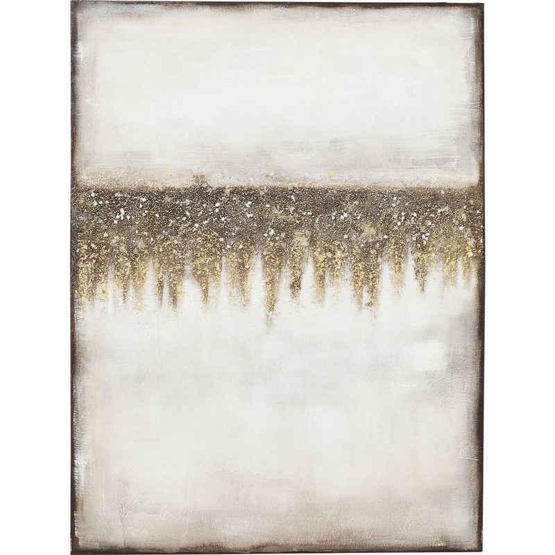 KARE Dekoobjekt »Acrylbild Abstract Fields 120x90cm«