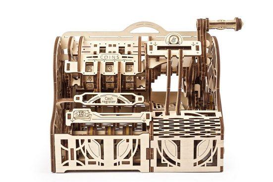 UGEARS 3D-Puzzle »UGEARS Holz 3D-Puzzle Modellbausatz REGISTRIERKASSE«, 405 Puzzleteile