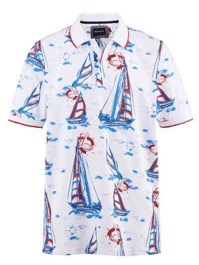 Babista Poloshirt mit maritimem Druckmuster