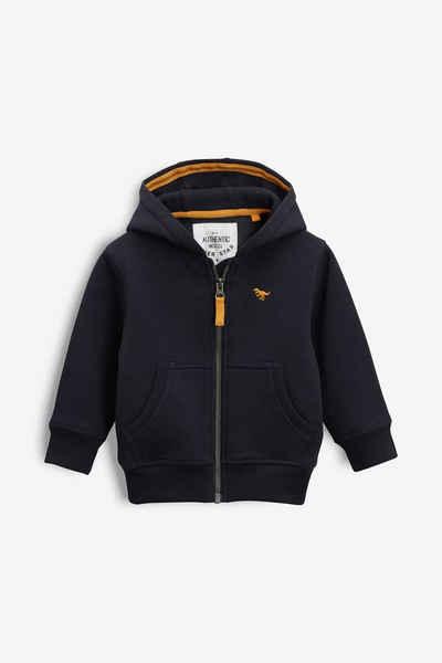 Next Kapuzensweatshirt »Basic-Kapuzenjacke mit Reißverschluss« (1-tlg)