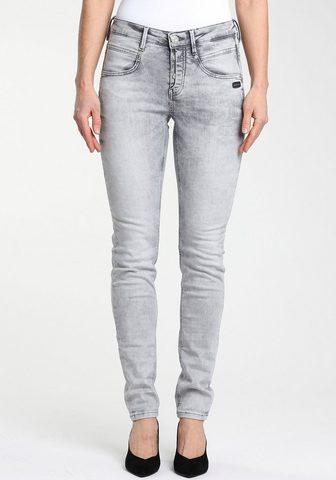 GANG Skinny-fit-Jeans »Medina« su madingas ...