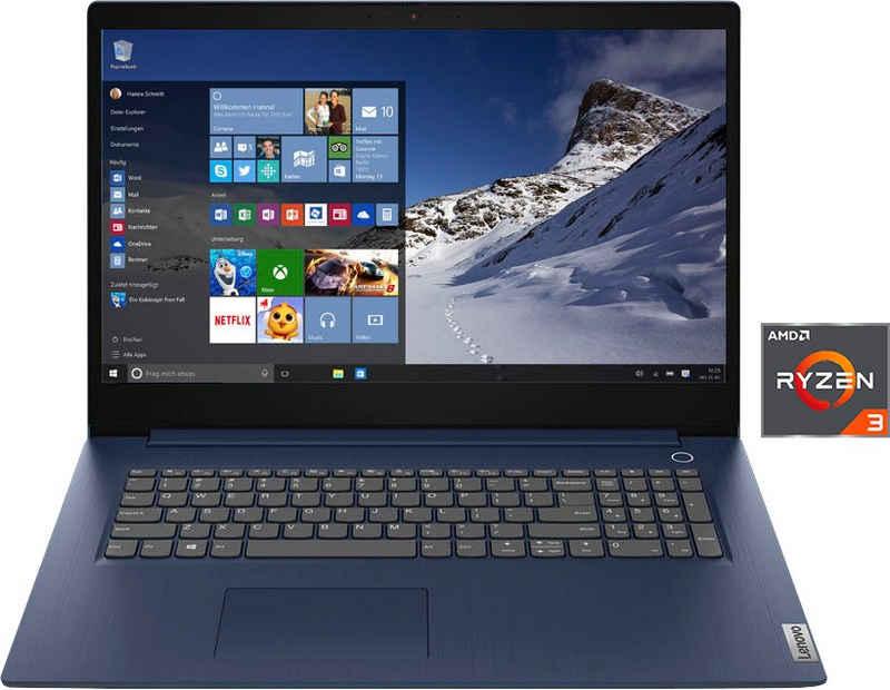 Lenovo IdeaPad 3 17ADA05 Notebook (43,9 cm/17,3 Zoll, AMD Ryzen 3 3250U, Radeon Graphics, 512 GB SSD, Kostenloses Upgrade auf Windows 11, sobald verfügbar)