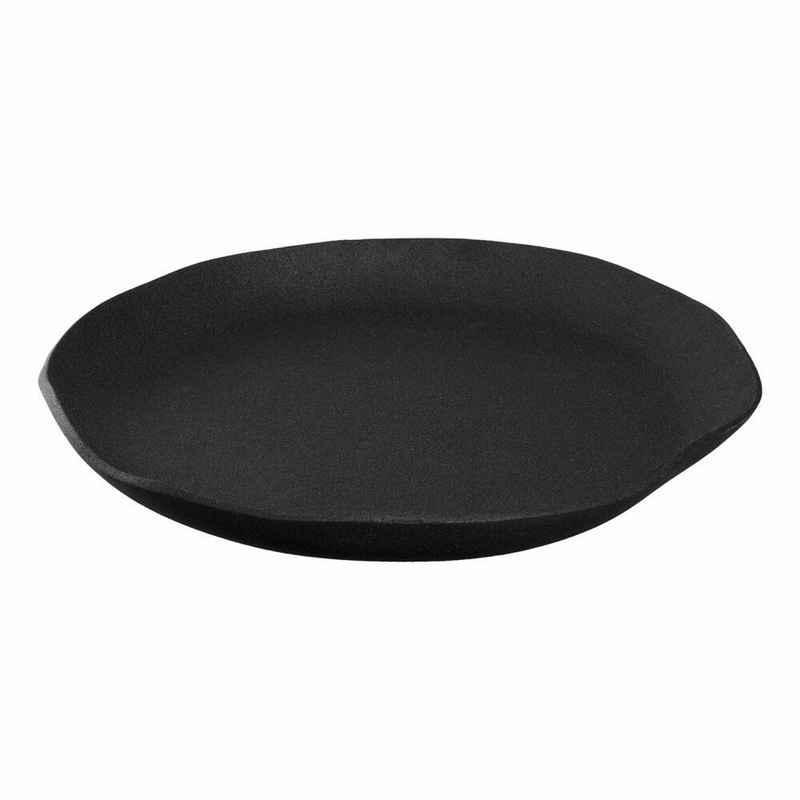 LEONARDO Dekoschale »Casolare Aluminium schwarz 39 cm«